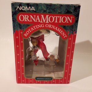 Vintage Norma Ornamotion Heavenly Angels
